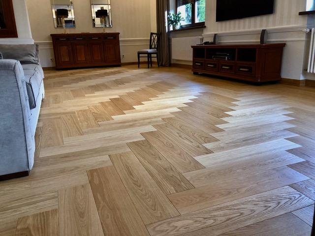 Podłogi drewniane warstwowo klejone wz. jodła angielska